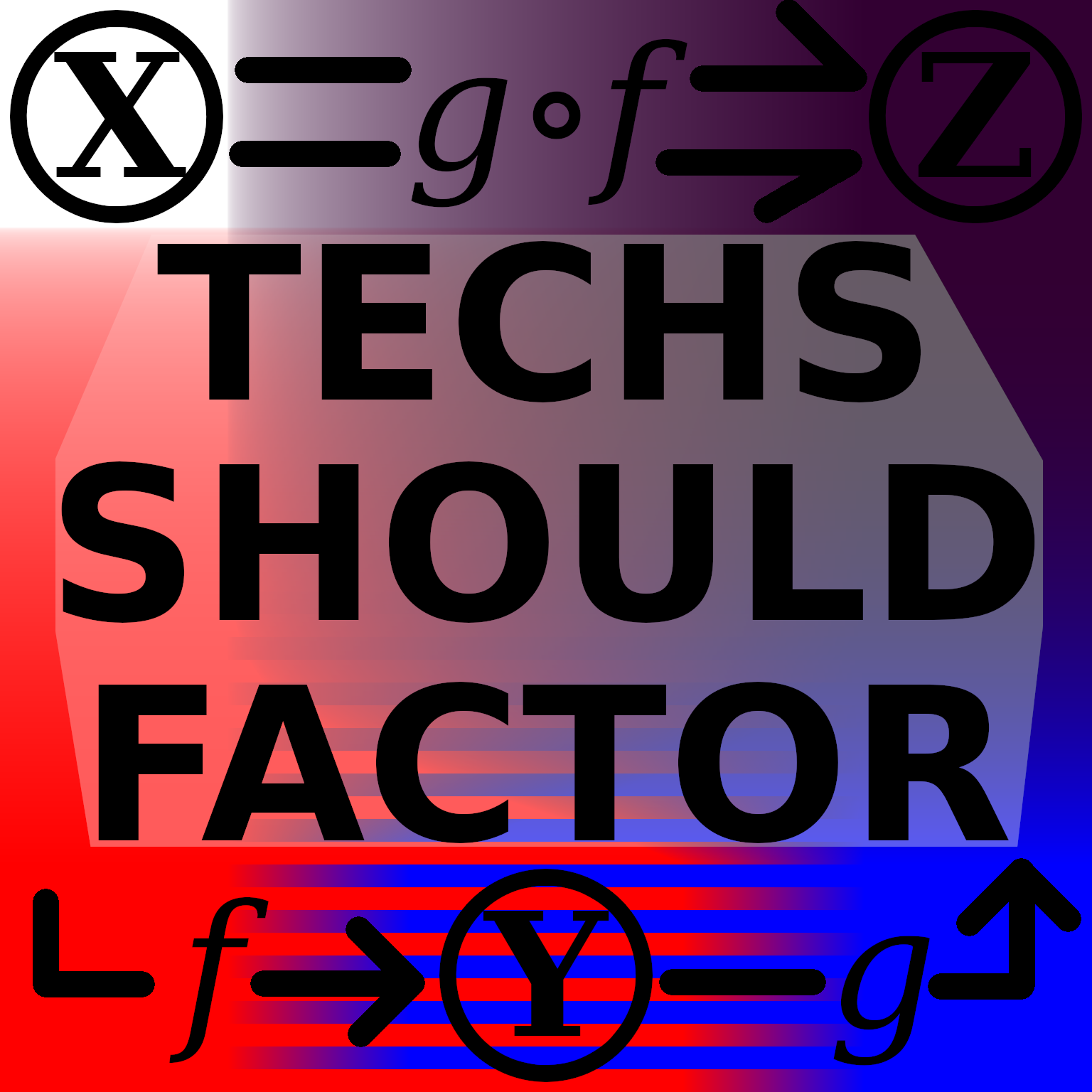 Techs should factor.